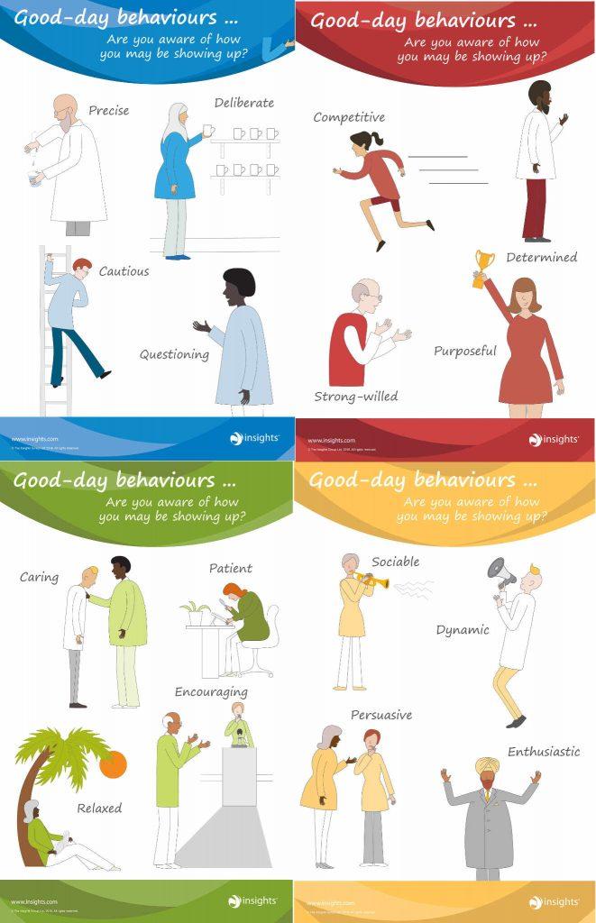 LifeForward Insights 4 colour good days