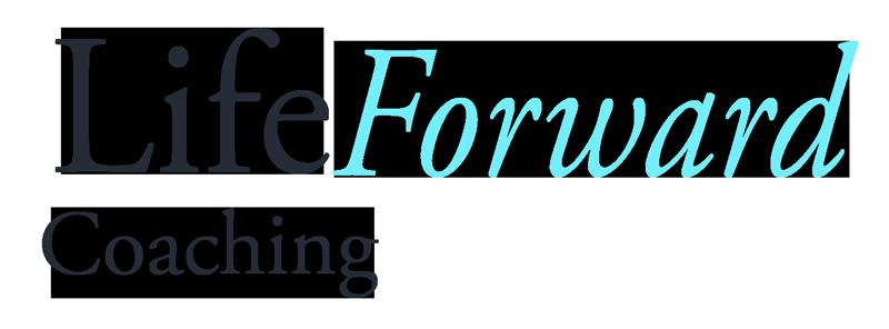 LifeForward logo dark