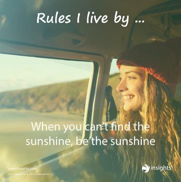 Bring the sunshine