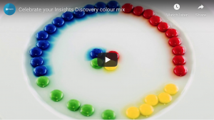 Insights celebrate colour mix