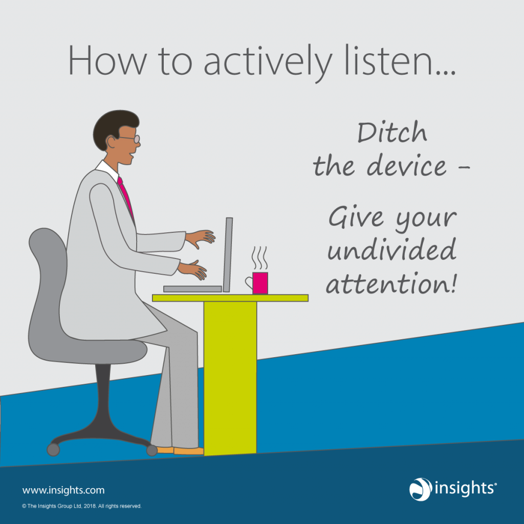 Effective listening EI