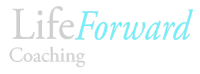 LifeForward logo silver